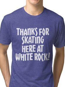 WRSC Skating at White Rock (white) Tri-blend T-Shirt