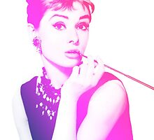 Audrey Hepburn by mogracee