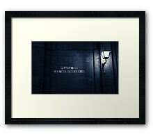 Seville at Night - Plaza de las Mercedarias Framed Print