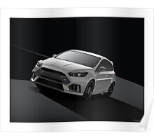 Gray Focus RS Poster