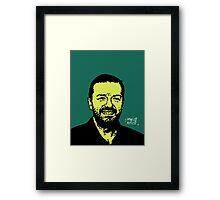 Ricky Gervais Framed Print
