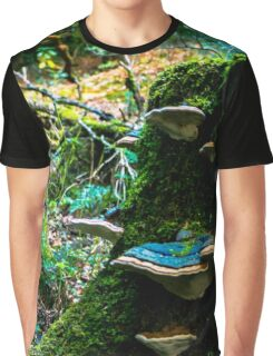 Herbstwald Graphic T-Shirt