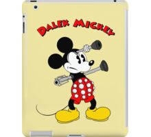 Dalek Mickey (plus Text) iPad Case/Skin