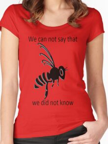 BRB Know Women's Fitted Scoop T-Shirt