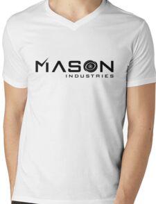 Timeless - Mason Industries Re-Imagined Logo Mens V-Neck T-Shirt