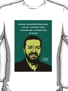 Ricky Gervais Atheist T-Shirt