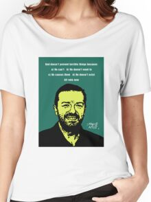 Ricky Gervais Atheist Women's Relaxed Fit T-Shirt