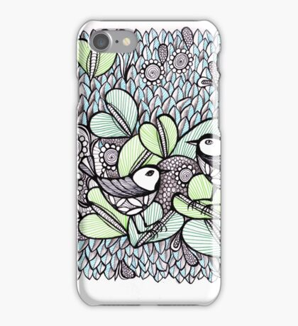 The garden of birds iPhone Case/Skin