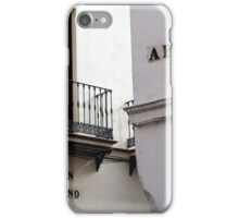 Strees of Seville - Walking in Calle Abades iPhone Case/Skin