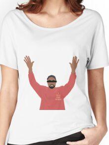 Kanye  West cartoon design Women's Relaxed Fit T-Shirt
