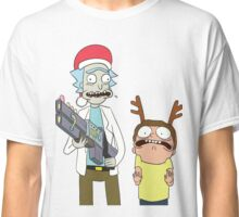 Merry Christmas - Rick and Morty Classic T-Shirt