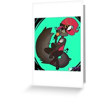 Witchy Wolf Greeting Card