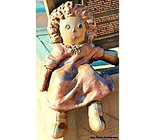 Comedy Doll Photographic Print