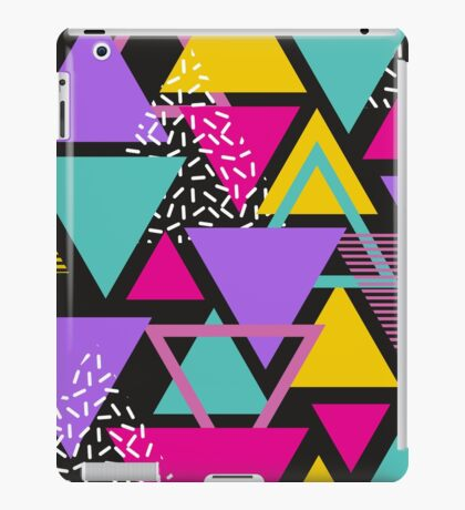 Memphis Triangles iPad Case/Skin