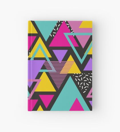 Memphis Triangles Hardcover Journal