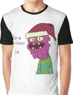 Scary Terry Merry Xmas Bitch - Rick and Morty Graphic T-Shirt