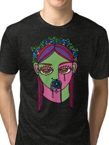Tear and silence Tri-blend T-Shirt