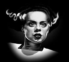 Bride of Frankenstein by samRAW08