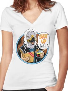 """Colonel's Orders"" - Special Edition Chestbridge Design Women's Fitted V-Neck T-Shirt"