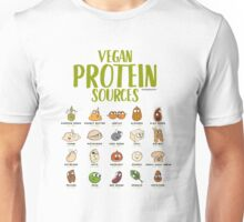 Vegan Protein Sources Unisex T-Shirt