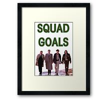 Squad Goals | Twin Peaks | Twin Peaks Collection Framed Print