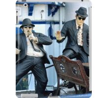 The blues grill iPad Case/Skin