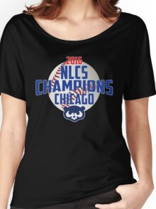 Chicago Cubs NLCS Championship T-Shirt Women's Relaxed Fit T-Shirt