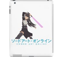 Kirito Minimalistic - Sword Art Online 2 iPad Case/Skin