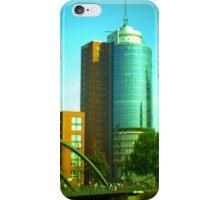 Hanseatic Trade Center (Hamburg) -tiltshift iPhone Case/Skin