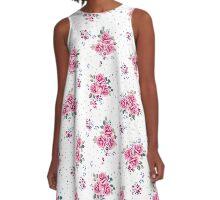 Vintage roses A-Line Dress