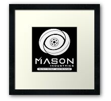 Timeless - Mason Industries - Protect The Past Save The Future Framed Print