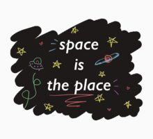 Space is the Place One Piece - Long Sleeve