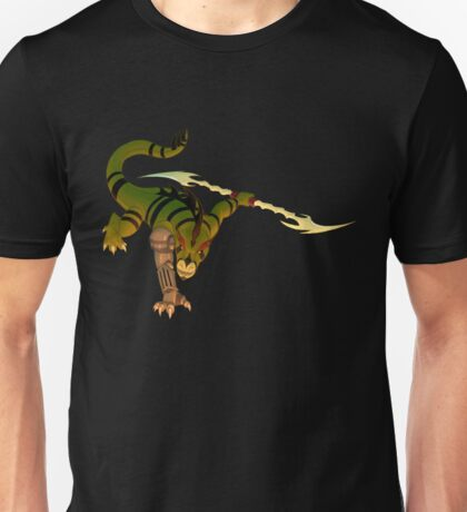 Old Time Dragon Chase - Guest Art Unisex T-Shirt