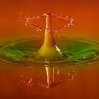 Splash-Shroom Waterdrop Photography by Pixie Copley LRPS