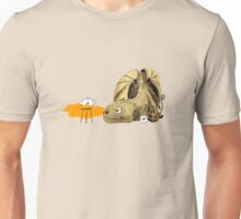 Dragon making tea Unisex T-Shirt