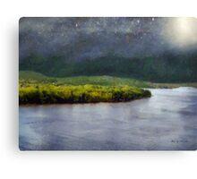 Star-Spangled River Canvas Print