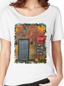Never Stop Dreaming #1 Women's Relaxed Fit T-Shirt