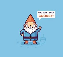 You don't Gnomey  by Randyotter
