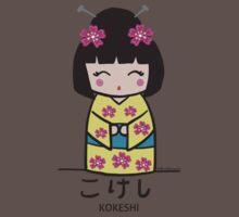 Kokeshi Baby Tee