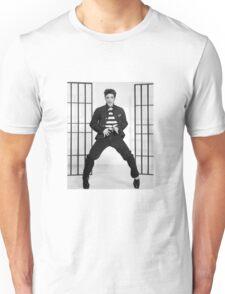 Elvis en Jailhouse Rock Unisex T-Shirt
