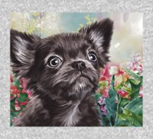 Chihuahua Painting  One Piece - Short Sleeve