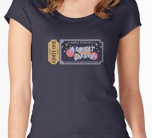 Nerdy Tee - Mommy Fortuna's Midnight Carnival Women's Fitted Scoop T-Shirt