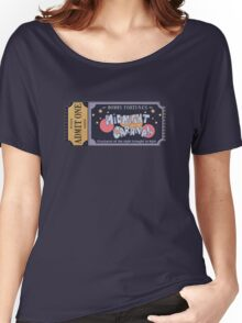 Nerdy Tee - Mommy Fortuna's Midnight Carnival Women's Relaxed Fit T-Shirt
