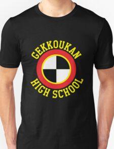 Gekkoukan Emblem with Text T-Shirt