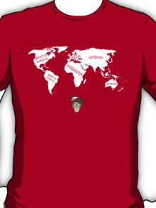 """""""I Know My Geography"""" T-Shirt"""