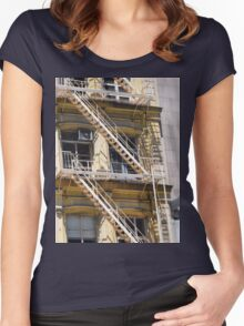 NY Living Women's Fitted Scoop T-Shirt