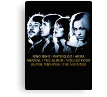 ABBA - The Albums GOLD Canvas Print