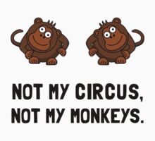 Circus Monkeys Kids Clothes