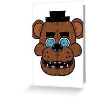 Freddy Fazbear (Five Nights at Freddy's) Greeting Card