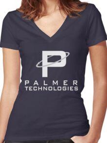 Palmer Technologies Women's Fitted V-Neck T-Shirt